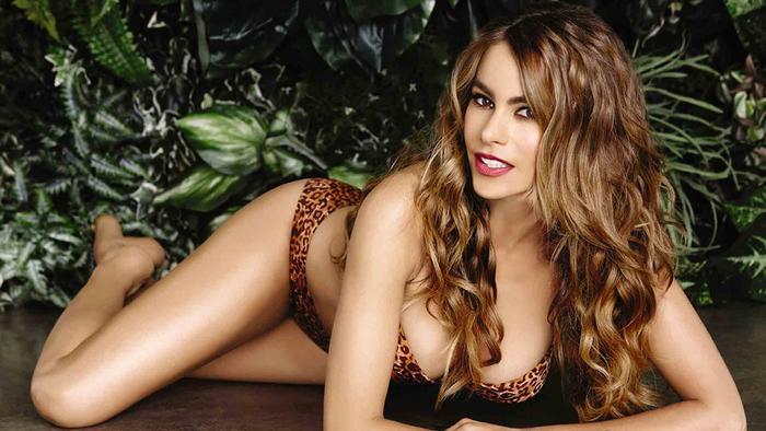 Sofía Vergara en bikini