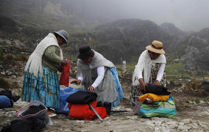 mujeres indígenas aymara