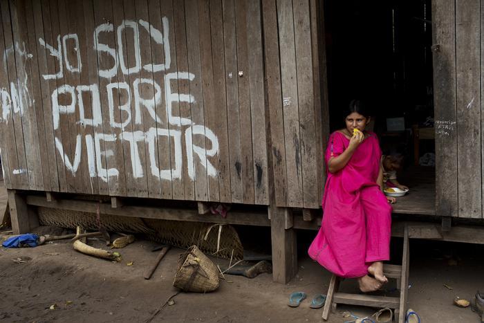 Tribu en la Amazonia peruana