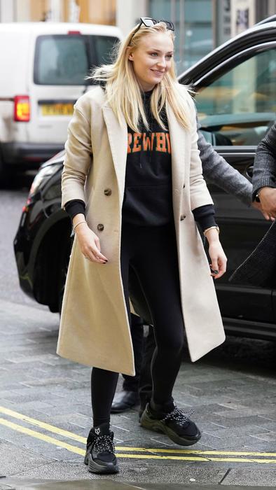 Sophie Turner, Londres, enero 2020