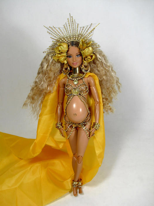 Muñeca de Beyoncé en los premios Grammy 2017
