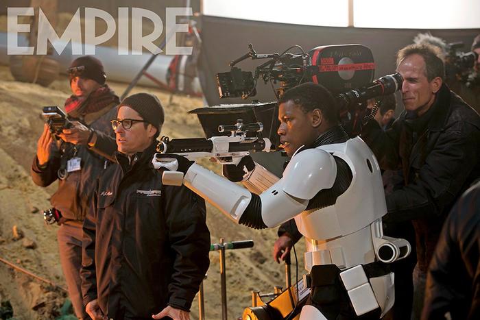 """John Boyega en la nueva película de """"Star Wars""""."""