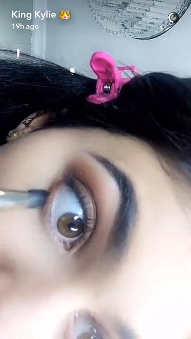 Tutorial Kylie Jenner Snapchat
