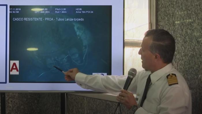 Autoridades argentina hablan sobre el hallazgo del submarino desaparecido hace más de un año