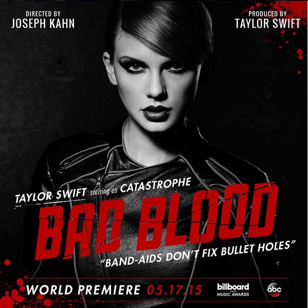 Promoción del video musical de Taylor Swift 'Bad Blood'
