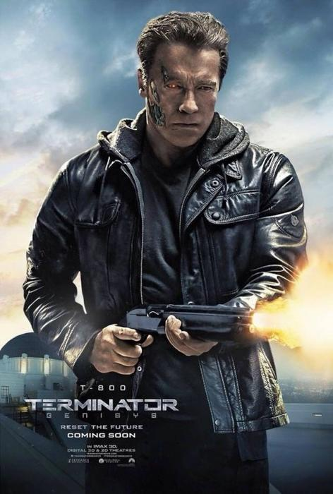 """Nuevos pósters de los personajes de la película """"Terminator Genisys"""""""