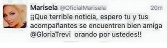 Marisela tuit