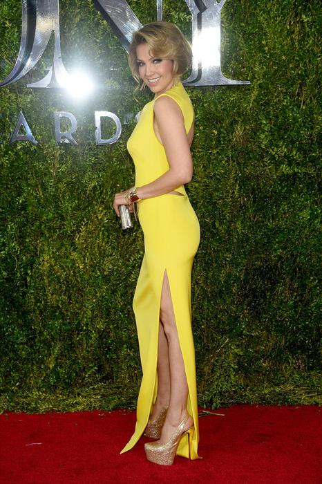 Thalia en la alfombra roja de los Tony Awards 2015