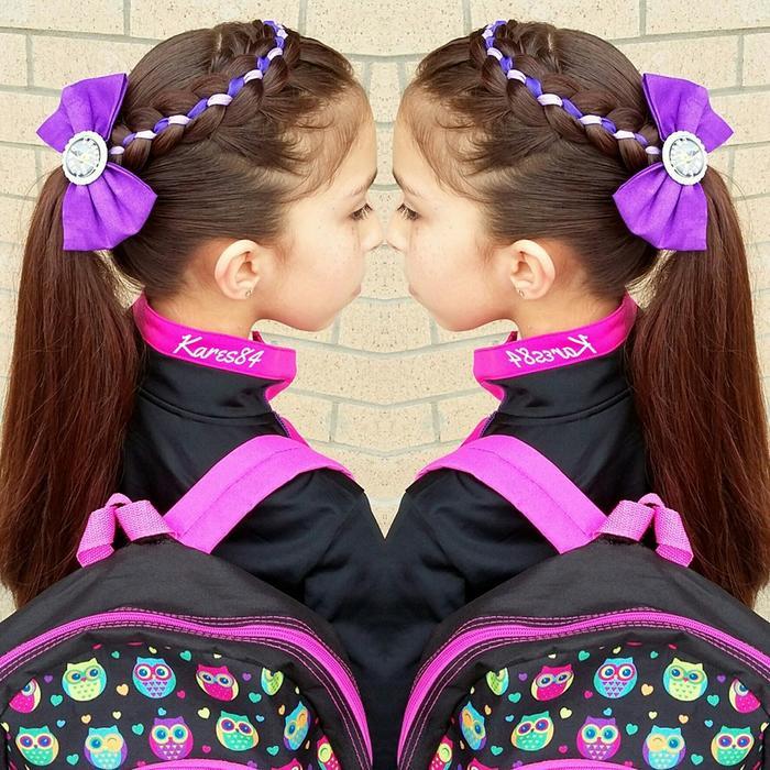 trenzado violeta