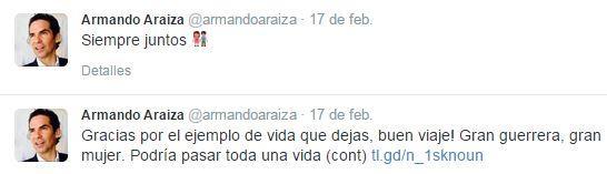 tuit de Armando Araiza