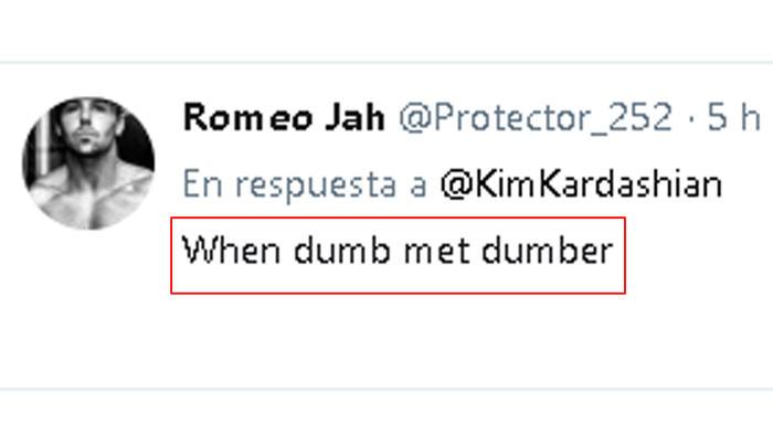 Tuit sobre la reunión de Kim Kardashian con Donald Trump