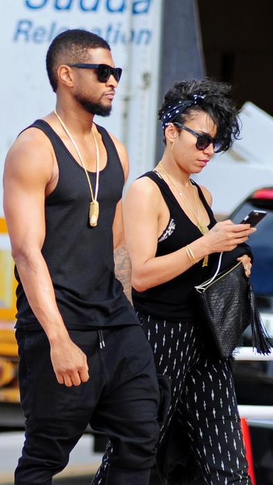 Usher Raymond y Miguel 2015