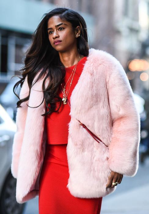 Vashtie Kola en la semana de la moda de Nueva York