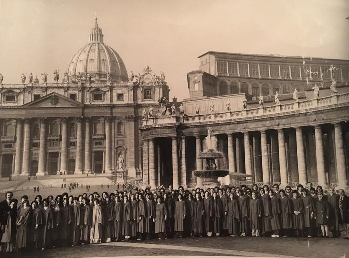 Dra. Polo en el Vaticano