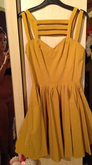 Vestido de ebay amarillo