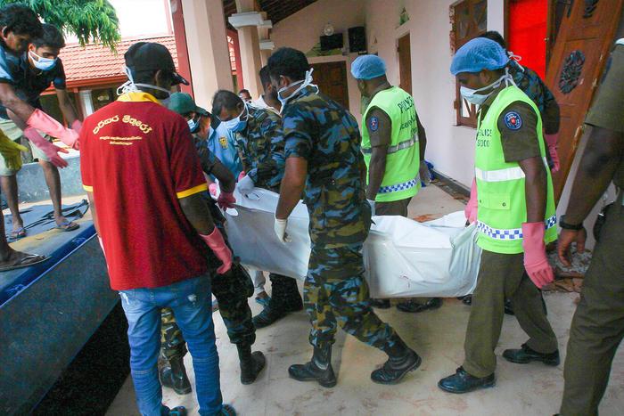 Víctimas en Sri Lanka