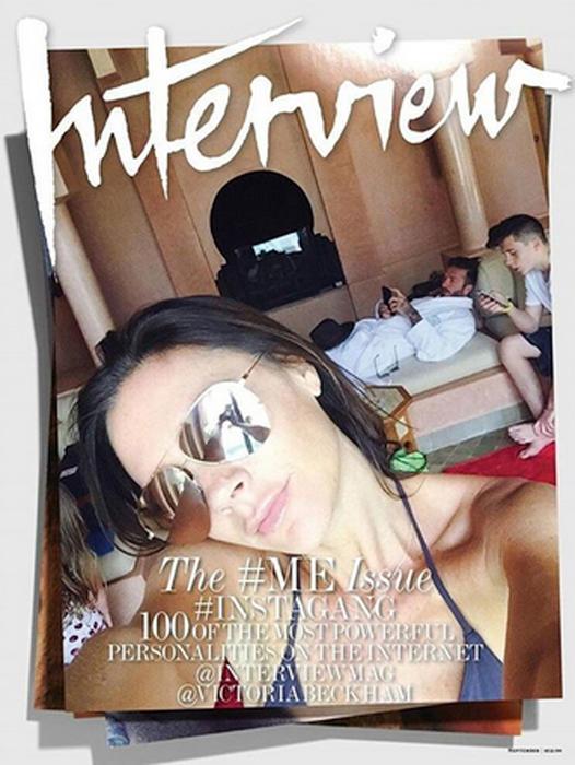Victoria Beckham para la revista Interview