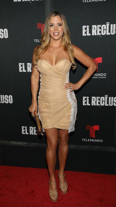"""Ximena Duque en la presentación de """"El Recluso"""""""