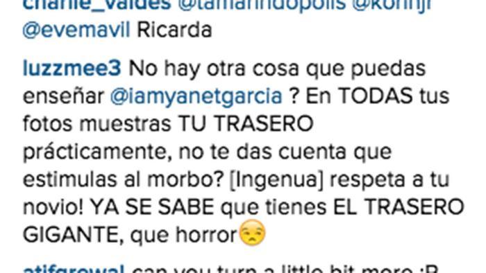 Comentario a Yanet García