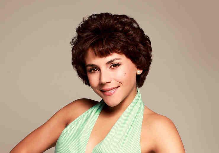 """Carolina Gaitán como Lola Calvo en """"Celia"""""""
