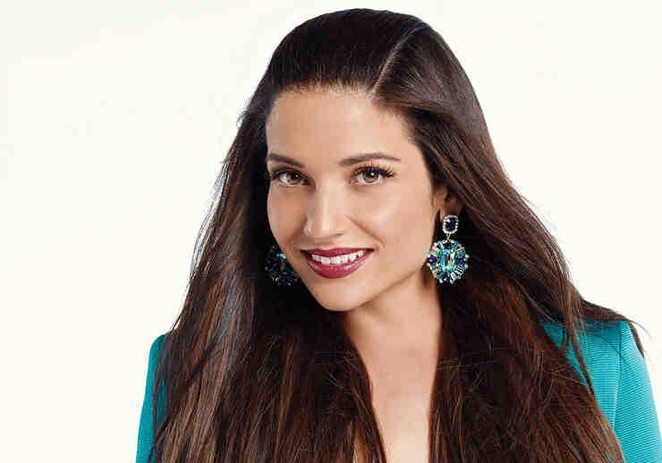 Natalia Jiménez en foto como coach de la cuarta temporada de La Voz Kids