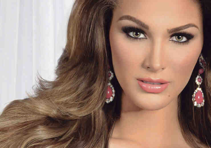 Migbelis Castellanos is Miss Venezuela in Miss Universe
