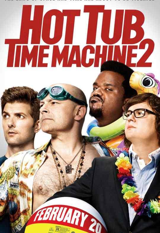 "Póster de la película ""Hot Tub Time Machine 2""."
