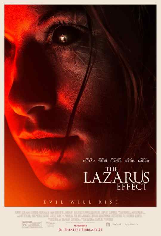 The Lazarus Effect póster.