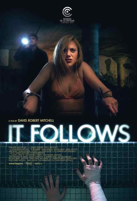 "Póster de la película ""It Follows""."