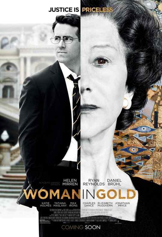 "Póster de la película ""Woman in Gold""."