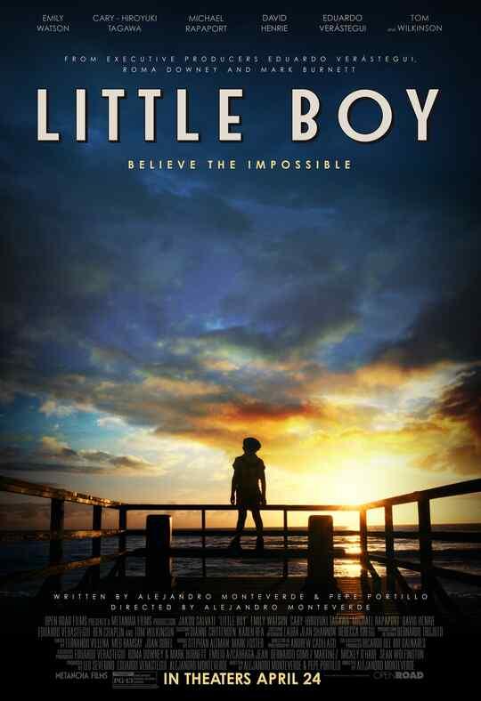 """Póster de la película """"Little Boy""""."""