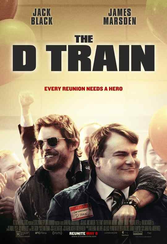 """Póster de """"The D Train""""."""