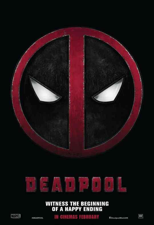 "Póster de la película ""Deadpool""."