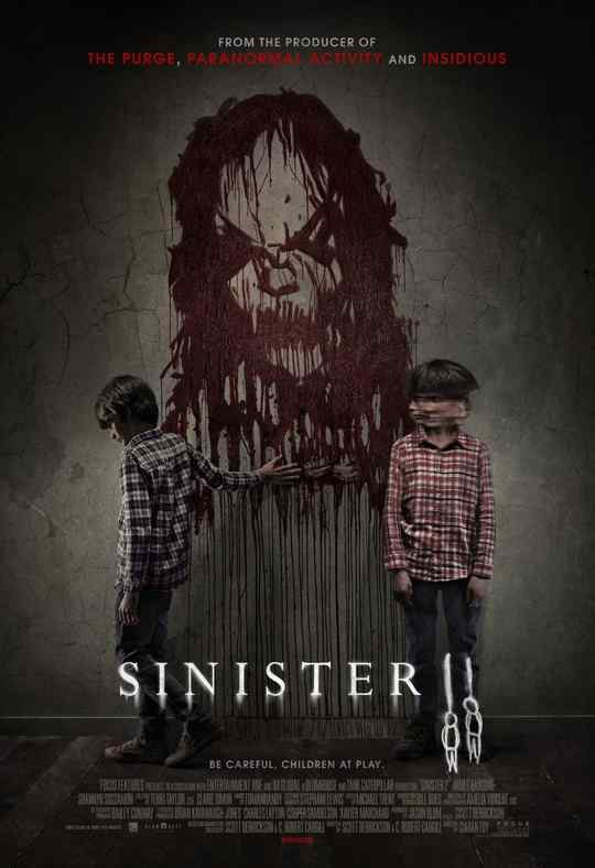 "Póster de la película ""Sinister 2""."