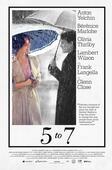 """Póster de la película """"5 to 7""""."""
