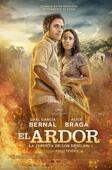 """Póster de la película """"El Ardor""""."""