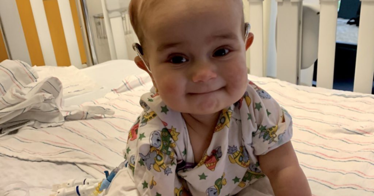 Goodbye to Francesca, the 9 month old baby who failed this Night of a rare cancer