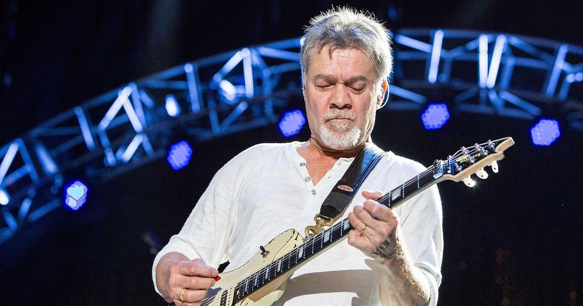 Eddie Van Halen Guitars To Go up for Auction