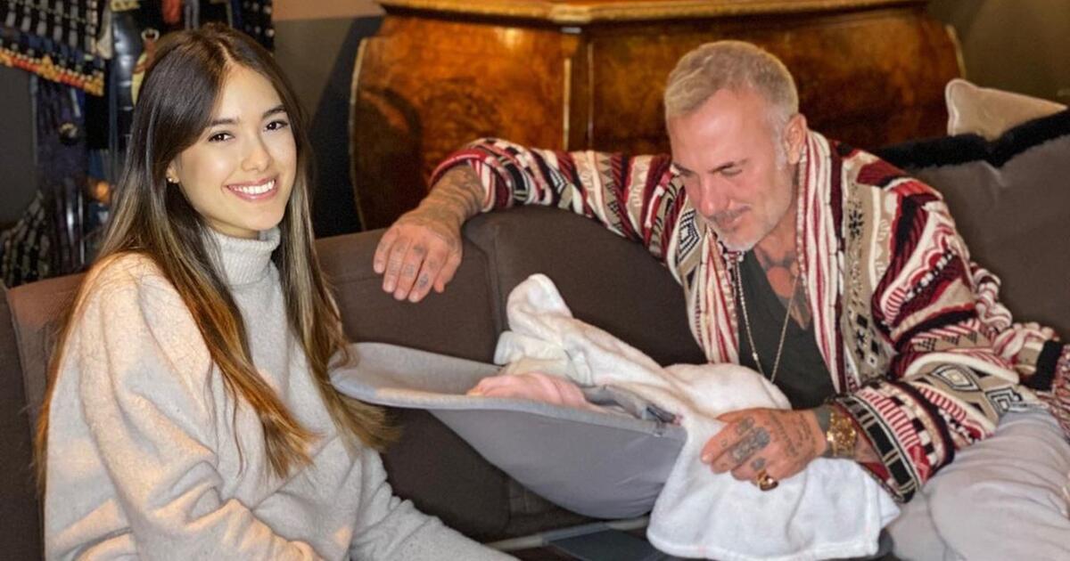 Sharon Fonseca celebró el primer mes de su bebé en las redes