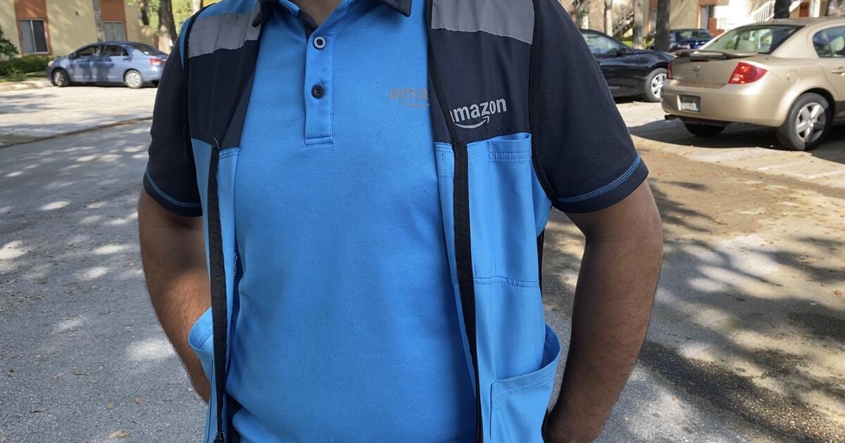 La jornada de un repartidor de Amazon durante el coronavirus: 10 horas contrarreloj en camionetas mugrientas