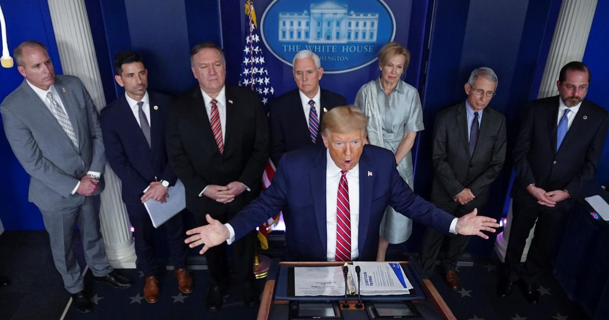 Trump se enfrenta a periodista de NBC News que lo precisa sobre medicamento  contra el coronavirus | Telemundo