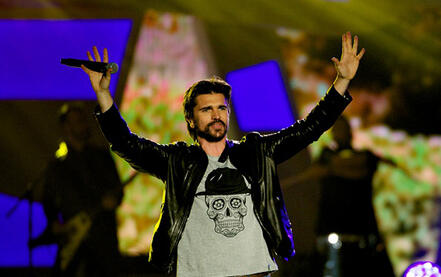 Juanes en el Barclay Center 2015