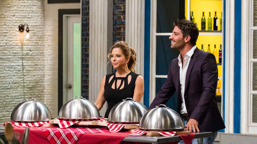 Ingrid Hoffmann y David Hoffmann en Top Chef Estrellas