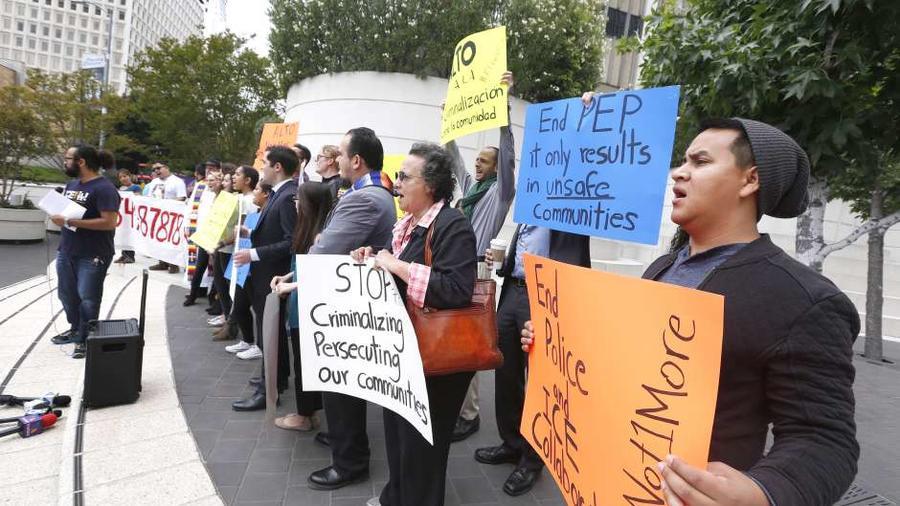 Protestas en contra de la políticas migratorias de Trump
