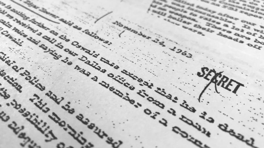Un documento hasta ahora secreto con declaraciones del entonces director del FBI sobre la muerte de Kennedy.