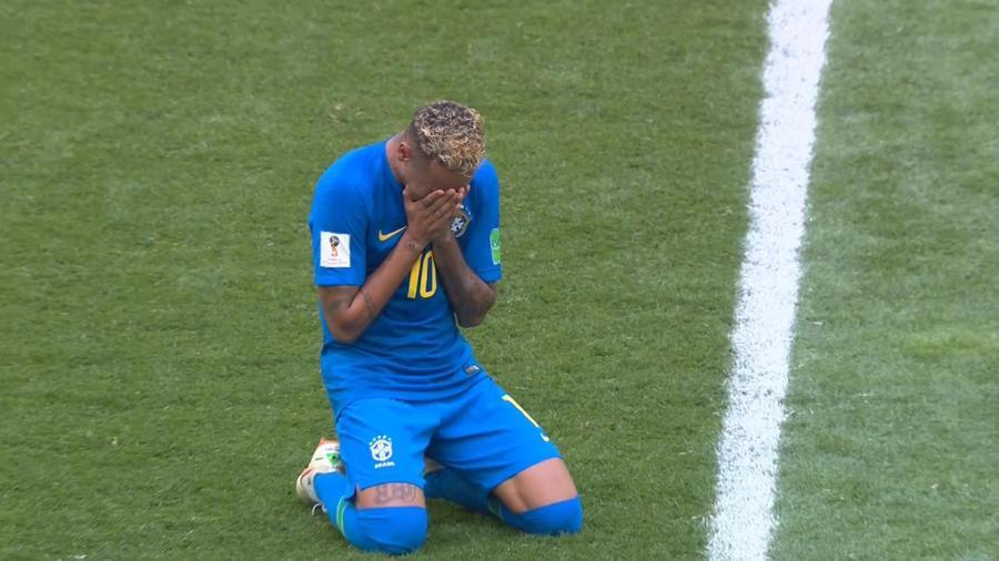Llanto Neymar