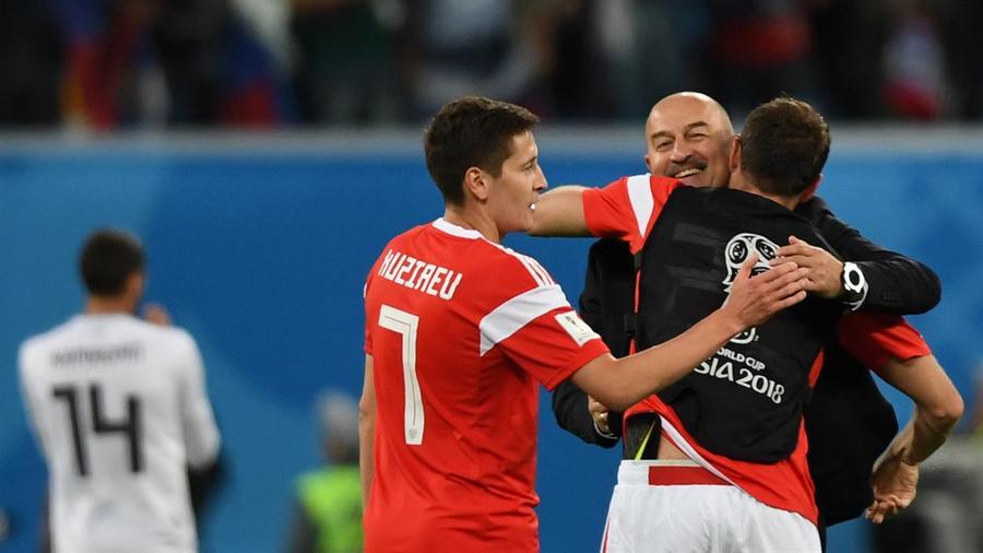 Egipto vs Rusia High Lights