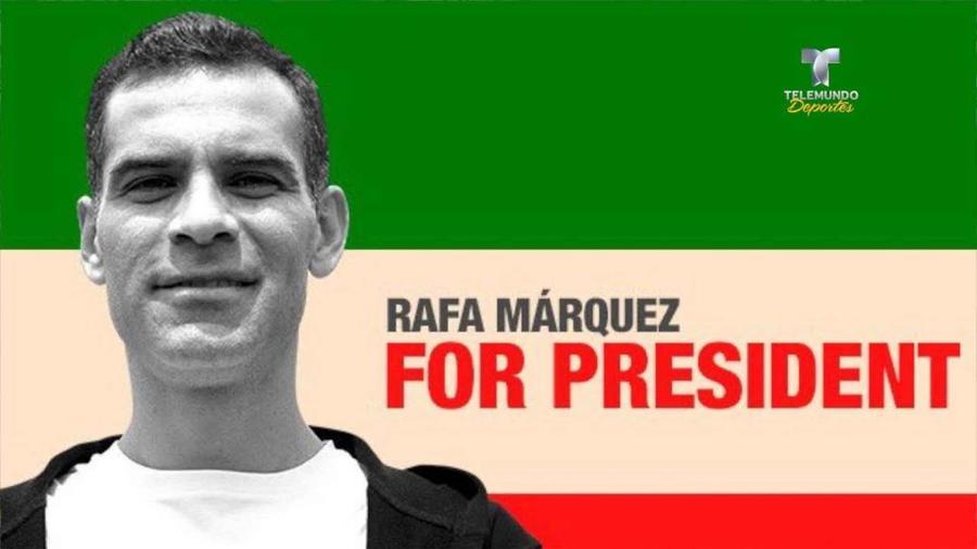 Rafa Márquez presidente