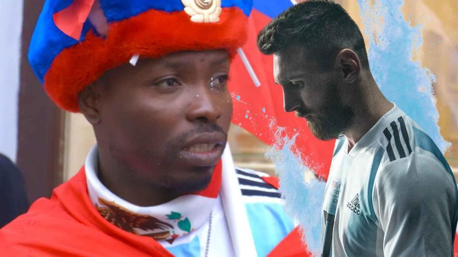 Nigeriano que le va a Argentina