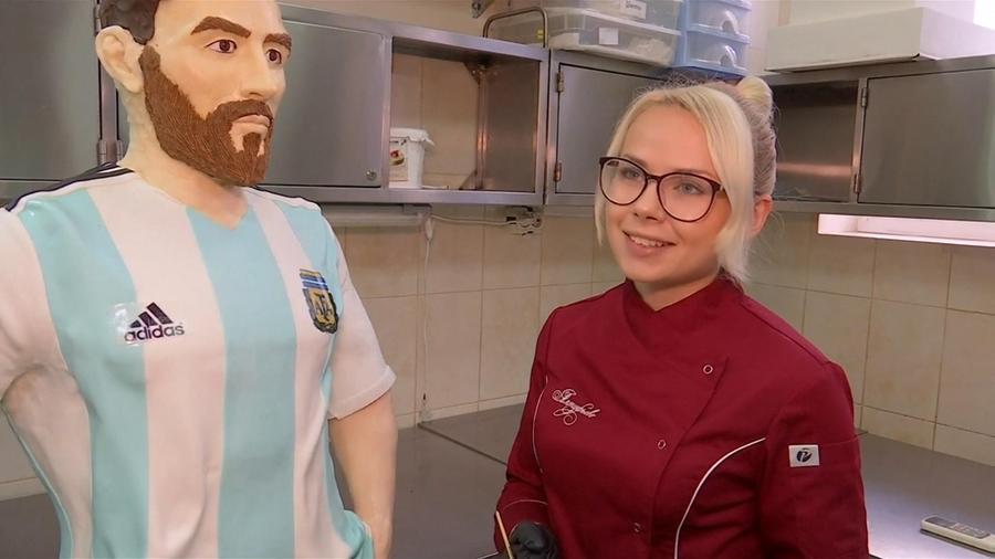 Pastel Messi